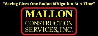 Logo, MALLON CONSTRUCTION SERVICES, INC. - Radon Mitigation